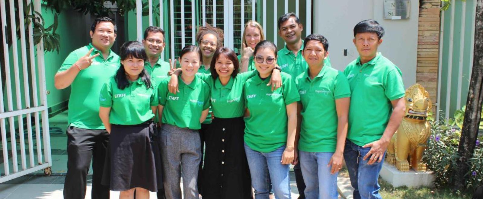 Equipe expérimentée formée par Projects Abroad qui assure la sécurité des volontaires pendant leur projet à l'étranger